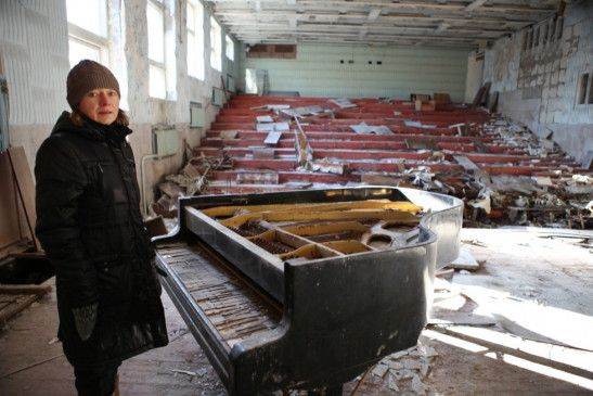 Alena Cherny auf ihrer Reise in die eigene Vergangenheit