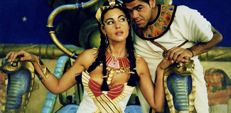 Hauptsache wir haben Spaß! Monica Bellucci als Kleopatra