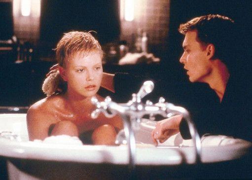 Ein beruhigendes Bad? Charlize Theron und Johnny Depp