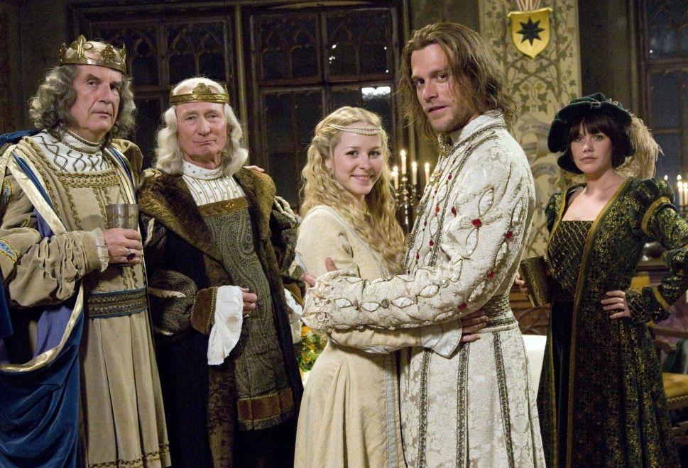 Sind wir schon auf Sendung? Die königliche Familie lässt bitten ...