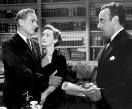 Ich bewahre euch vor den Nazis! George Coulouris (r.) mit Paul Lukas und Bette Davis