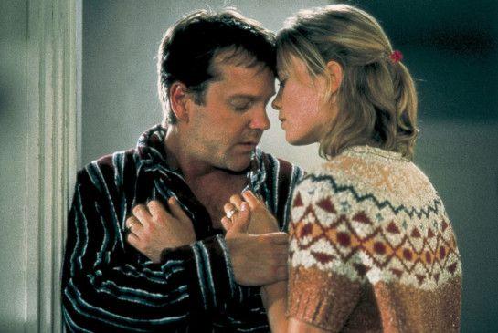 Ich sehe einfach keine Zukunft mehr! Kiefer Sutherland mit Radha Mitchell