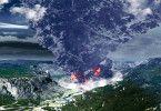Der Supervulkan bricht aus, die Katastrophe ist da!