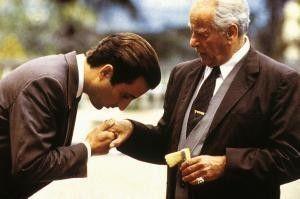 Begrüßung unter Mafiosi: Eli Wallach (r.) und Andy  Garcia
