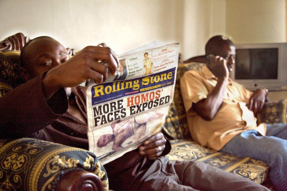 In Uganda sollten die Steine endlich ins Rollen gebracht werden ...