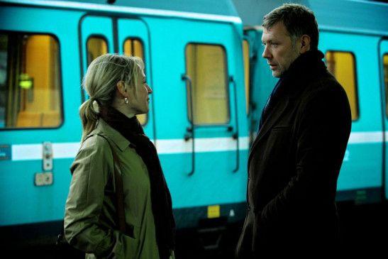 Wiedersehen am Ost-Bahnhof: Johan (Mikael Persbrandt) und Anna (Iben Hjejle)
