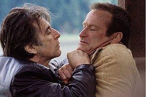 Von dir lasse ich mich nicht erpressen! Al Pacino geht Robin Williams an die Gurgel