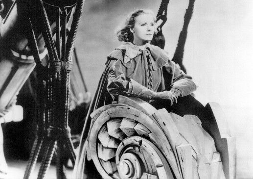 Ein leeres Blatt Papier: Greta Garbo