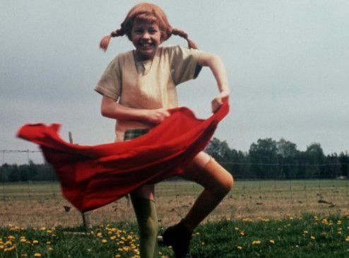 Pippi (Inger Nilsson) frönt wieder dem Vagabundenleben