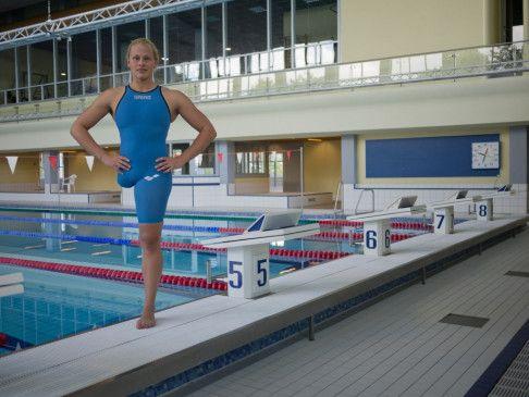 Die aus Dresden stammende Paralympics-Schwimmerin Christiane Reppe gewann in ihrer Karriere zahlreiche Medaillen