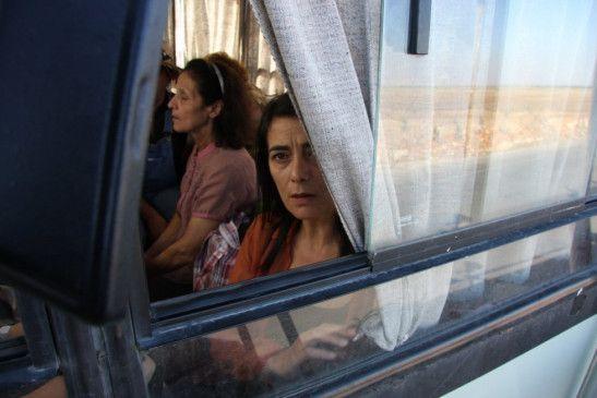 Unterwegs zu ihrem inhaftierten Mann: Hiam Abbass als Hala