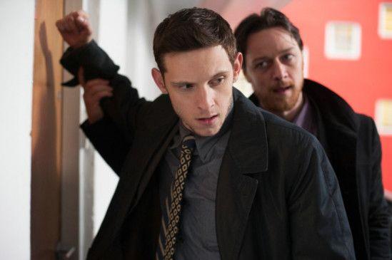 Das Böse im Genick: Jamie Bell (l.) mit James McAvoy