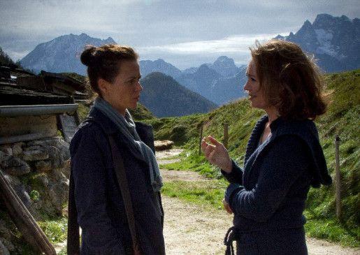 Freundinnen oder Gegenspieler? Iris Berben (r.) und Melika Foroutan