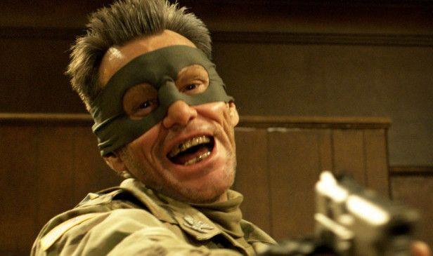 """Will auch Spaß haben: Jim Carrey als """"Colonel Stars & Stripes"""""""