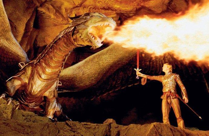 Du willst mein Schwert entzünden? Eragon (Ed Speleers) und der Drache