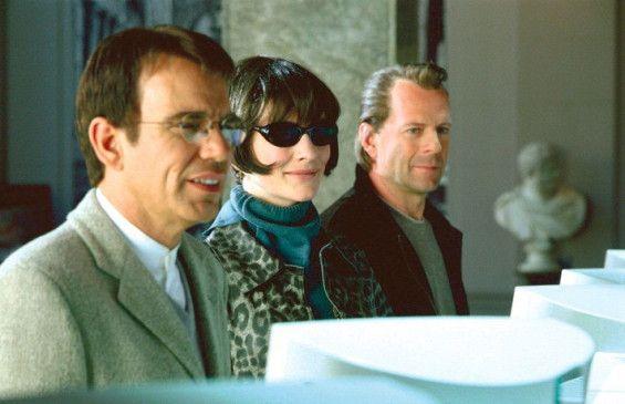 Her mit der Kohle! Billy Bob Thornton, Kate Blanchett und Bruce Willis (v.l.)