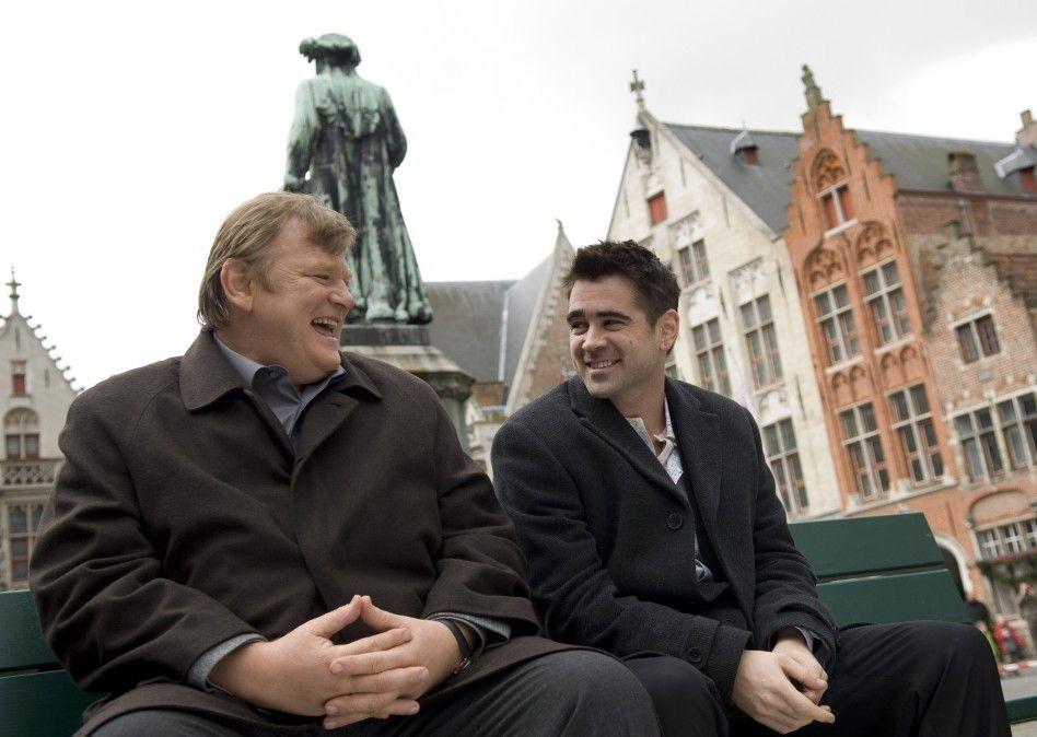 Haben sichtbar Spaß in Brügge: Brendan Gleeson  (l.)  und Colin Farrell