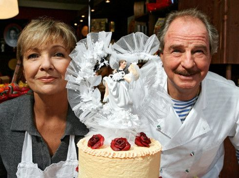 Konkurrenten: Gila von Weitershausen und Friedrich von Thun