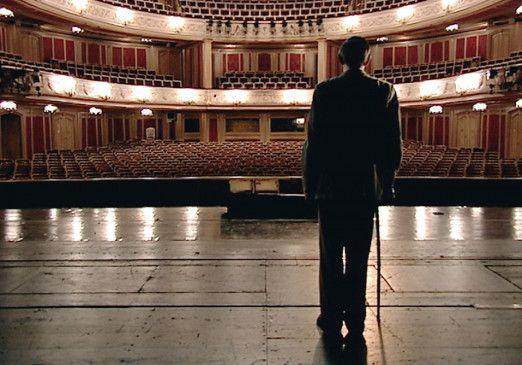 Die Musik ist aus, der Saal leer: Dirigent Otmar Suitner an alter Wirkungsstätte
