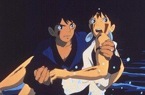 Keine Angst, ich rette dich! Ashitaka hilft Mononoke
