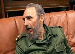 Fidel Castro ganz privat