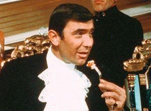 George Lazenby in seinem ersten und letzten  Bond-Abenteuer