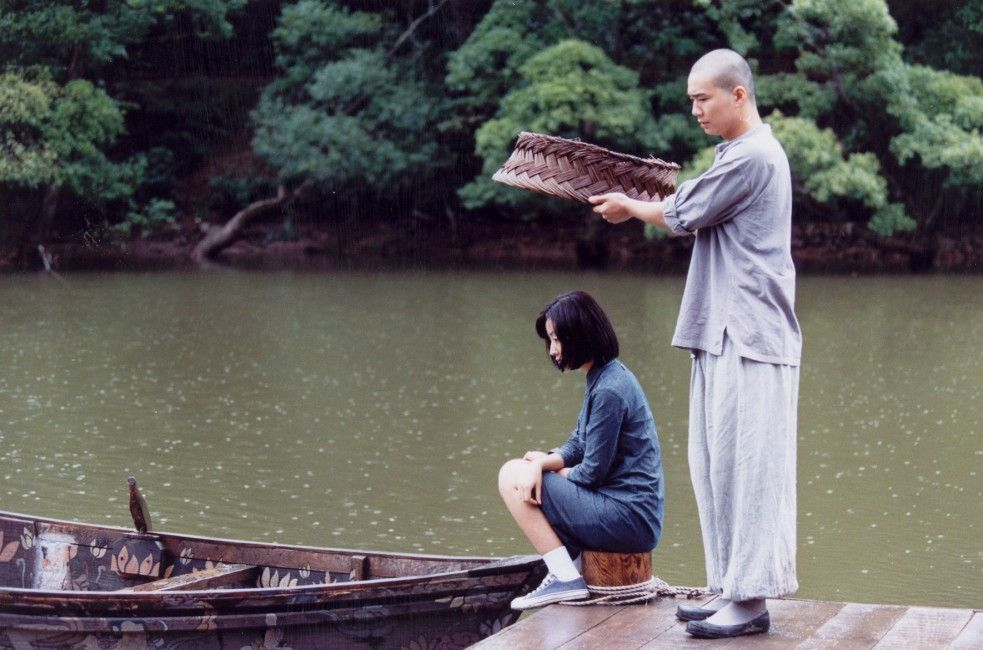 So wirst du nicht nass! Der Jüngling (Seo Jae-Kyung) und die Schöne (Ha Yeo-Jin)