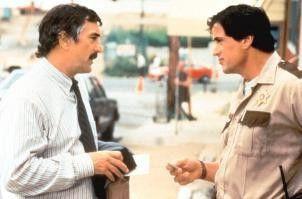 Sag nur, du bist auch korrupt? Sylvester Stallone (r.) und Robert De Niro