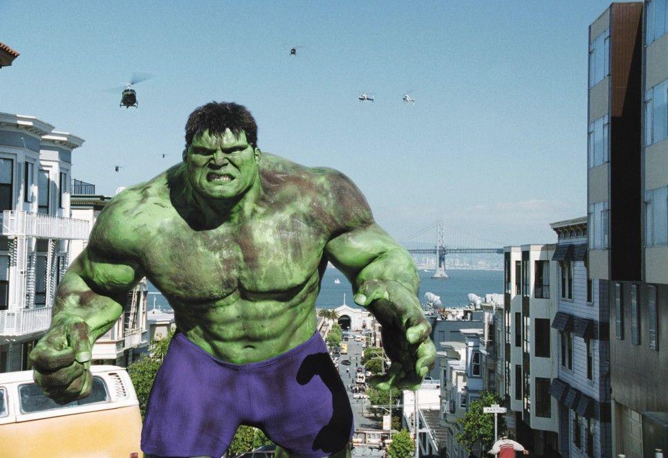 Nein, ich bin überhaupt nicht wütend! Eric Bana als Hulk