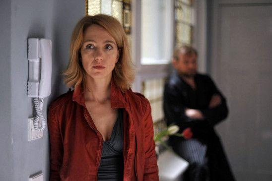 """Ursina Lard  als Romy, die """"Frau von früher"""""""