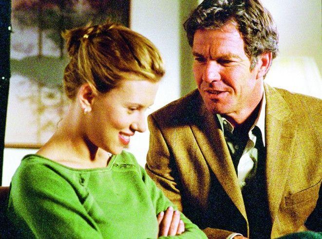 Vater macht wieder Witze! Dennis Quaid und Scarlett Johansson