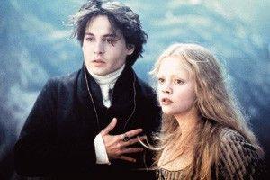 Da kommt wieder der kopflose Reiter! <br>Johnny Depp  und <br>Christina Ricci fürchten sich