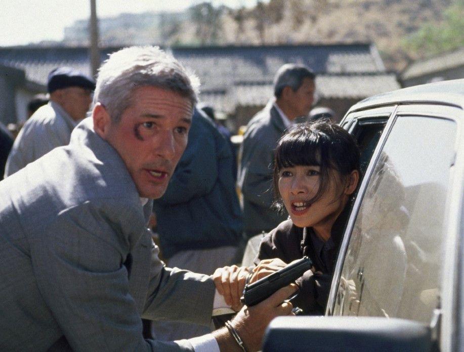 Auf der Flucht: Richard Gere (Foto mit Bai Ling)