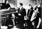 Ich akzeptiere Ihre Strafe, Eurer Ehren! Cary Grant (M.) und Myrna Loy (l.)