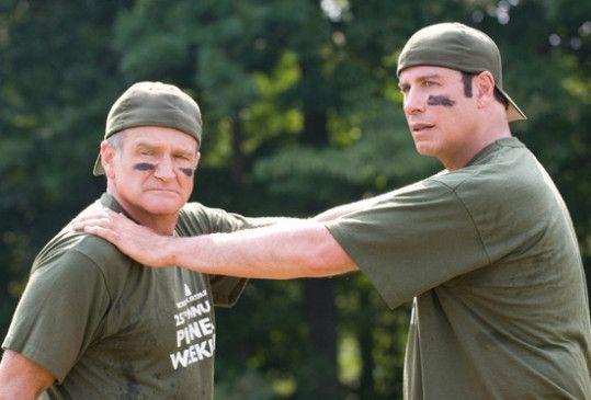 Ärger im Anmarsch: Robin Williams (l.) und John Travolta als Freunde in der Not