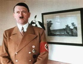 Fast privat: Adolf Hitler