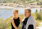Freut sich aufs Rentendasein: Alain Delon und Elena Sofia Ricci