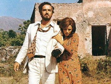 Unterwegs nach Neapel: Vittorio  Gassman und Agostina Belli