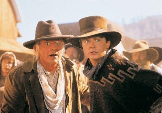 Wow, ein toller Apparat! Michael J. Fox (r.) und  Christopher Lloyd