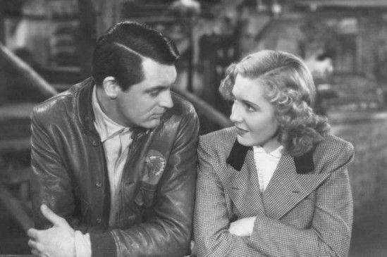 Geoff (Cary Grant) und Bonnie (Jean Arthur) scheinen sich zu verstehen