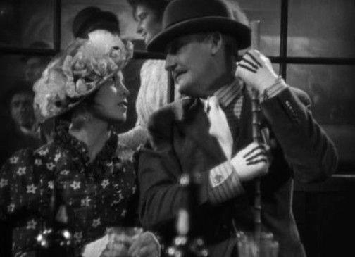 Rudolf Forster und Carola Neher als Mackie Messer und Polly