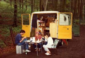 Essen im Wald - Gernstl und sein Team auch Achse