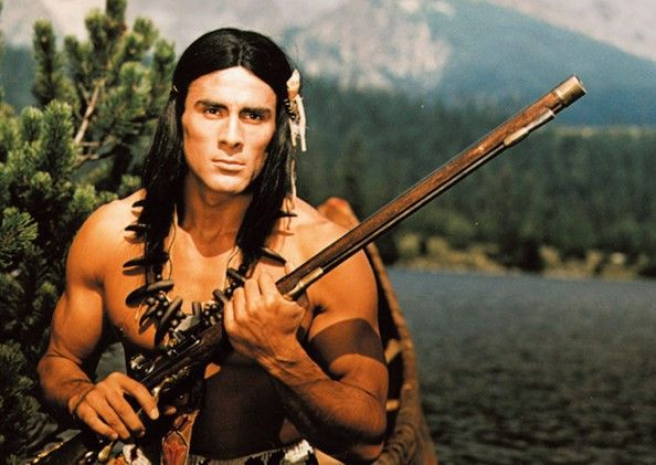 Vorzeige-Indianer Gojko Mitic als Chingachgook