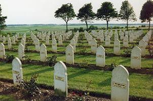 Und noch ein Soldatenfriedhof...