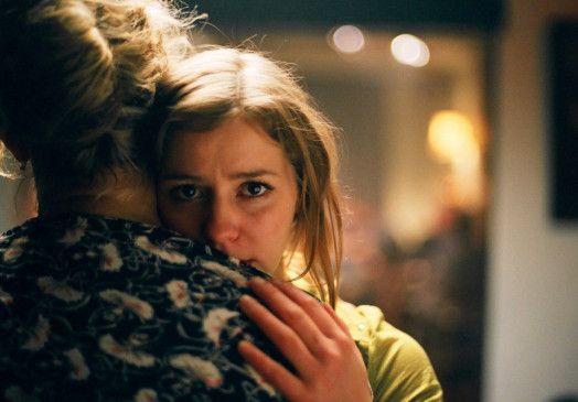 Sucht Trost bei der Mutter: Theresa Scholze
