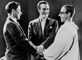 Ein Freund, ein guter Freund: Kurt Karlweis,  Willy Fritsch und Heinz Rühmann (v.l.)
