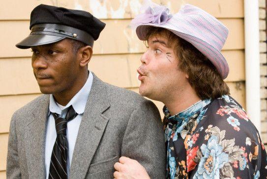 Welchen Film drehen wir gerade? Mos Def und Jack Black (r.)