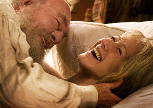 Offenbar hatten zumindest die Darsteller Spaß: Christopher Plummer und Helen Mirren