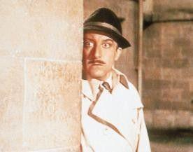 Was sehe ich, was sehe ich! Peter Sellers als  Inspektor Clouseau