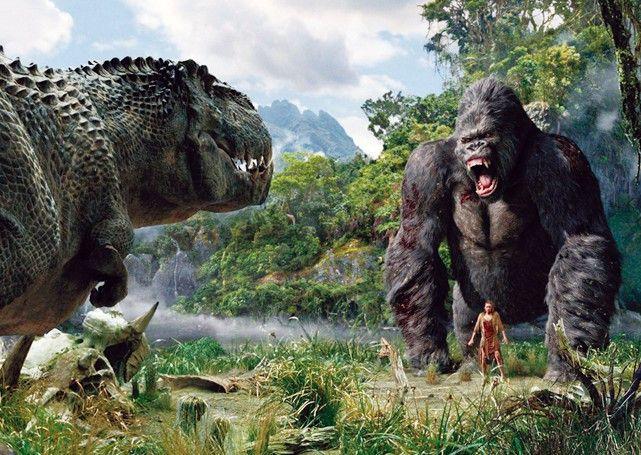 Sauer oder was? King Kong scheint wütend